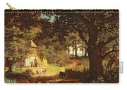The House In The Woods Carry-all Pouch by Albert Bierstadt