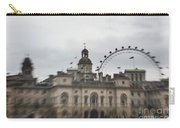 The Household Cavalry Museum Abstract London Abstract Carry-all Pouch