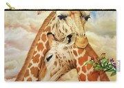 The Hug - Giraffes Carry-all Pouch