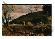 The Hunt Of Diana 1896 Carry-all Pouch