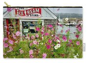 The Ice Cream Store On Bearskin Neck Carry-all Pouch