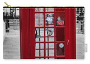 The Iconic London Phonebox Carry-all Pouch