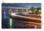 The Icy Charles River At Night Boston Ma Cambridge Carry-all Pouch
