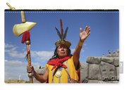 The Inca At Sacsayhuaman Carry-all Pouch