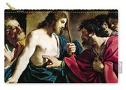 The Incredulity Of Saint Thomas Carry-all Pouch