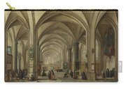 The Interior Of A Gothic Church Looking East   Carry-all Pouch