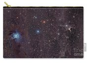 The Iris Nebula In Cepheus Carry-all Pouch by John Davis