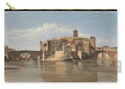The Island And Bridge Of San Bartolomeo - Rome Carry-all Pouch