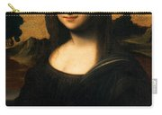 The Isleworth Mona Lisa Carry-all Pouch