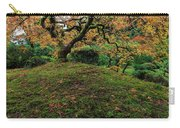 The Japanese Maple Tree In Autumn 2016 Carry-all Pouch