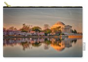 The Jefferson Memorial And Cherry Trees In Bloom Carry-all Pouch