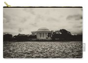 The Jefferson Memorial Carry-all Pouch by Bill Cannon