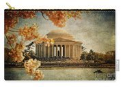 The Jefferson Memorial Carry-all Pouch