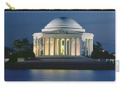 The Jefferson Memorial Carry-all Pouch by Peter Newark American Pictures