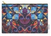 The Joy Of Design Mandala Series Puzzle 6 Arrangement 8 Carry-all Pouch
