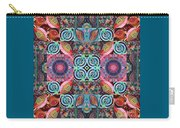 The Joy Of Design Mandala Series Puzzle 7 Arrangement 1 Carry-all Pouch