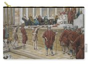 The Judgement On The Gabbatha Carry-all Pouch by Tissot