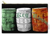 The Keg Room Irish Flag Colors Old English Hunter Green Carry-all Pouch