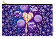 The Key To Love Is Peace And Love Popart Carry-all Pouch