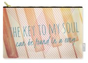 The Key To My Soul Carry-all Pouch