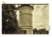 The Key West Lighthouse In Sepia Carry-all Pouch