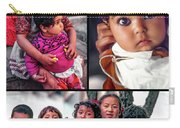 The Kids Of India Collage Carry-all Pouch