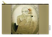 The King Of Thailand  Bhumibol Adulyadej- Cut Glass Window Carry-all Pouch