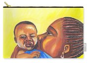 The Kiss Of A Mother In Senegal Carry-all Pouch