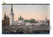 The Kremlin Towards The Place Rouge In Moscow - Russia - Ca 1900 Carry-all Pouch