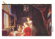 The Lady At Her Dressing Table 1667 Carry-all Pouch