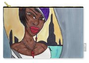 The Lady Of The City Carry-all Pouch