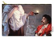 The Lady With The Lamp, Florence Carry-all Pouch by Science Source