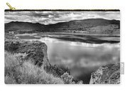 The Lake In Black And White Carry-all Pouch