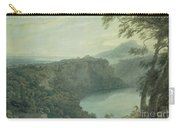 The Lake Of Nemi And The Town Of Genzano Carry-all Pouch