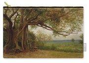 The Landing Of Columbus Carry-all Pouch by Albert Bierstadt