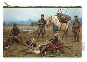 The Laplander Camp At Gleen Carry-all Pouch