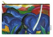 The Large Blue Horses 1911 Carry-all Pouch