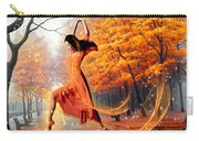The Last Dance Of Autumn - Fantasy Art  Carry-all Pouch