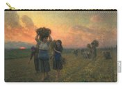 The Last Gleanings Carry-all Pouch by Jules Breton