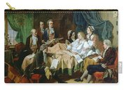 The Last Hours Of Mozart 1756-91 Henry Nelson Oneil Carry-all Pouch