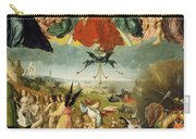 The Last Judgement Carry-all Pouch by Jan II Provost