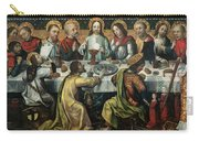 The Last Supper Carry-all Pouch by Godefroy