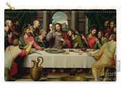 The Last Supper Carry-all Pouch by Vicente Juan Macip