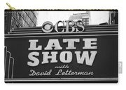 The Late Show Carry-all Pouch