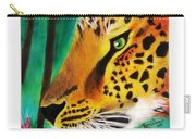The Leopard And The Butterfly Carry-all Pouch