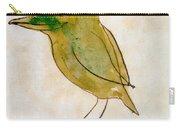 The Light Green Bird Carry-all Pouch