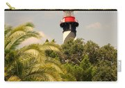 The Lighthouse In Saint Augusrtine Fl Carry-all Pouch
