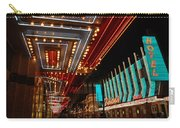 The Lights Are On In Las Vegas Carry-all Pouch