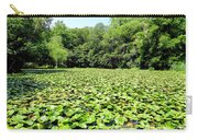 The Lily Pond #1 Carry-all Pouch