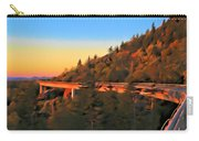 The Linn Cove Viaduct At Sunrise Carry-all Pouch